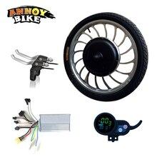 ANNOYBIKE 20 ''36V48V1000W Электрический мотор колеса комплект контроллер ЖК-Дисплей велосипедный двигатель электрический скутер аксессуары для электровелосипедов