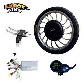 ANNOYBIKE 20 ''36V48V1000W Motor eléctrico rueda Kit controlador LCD Pantalla de Motor...