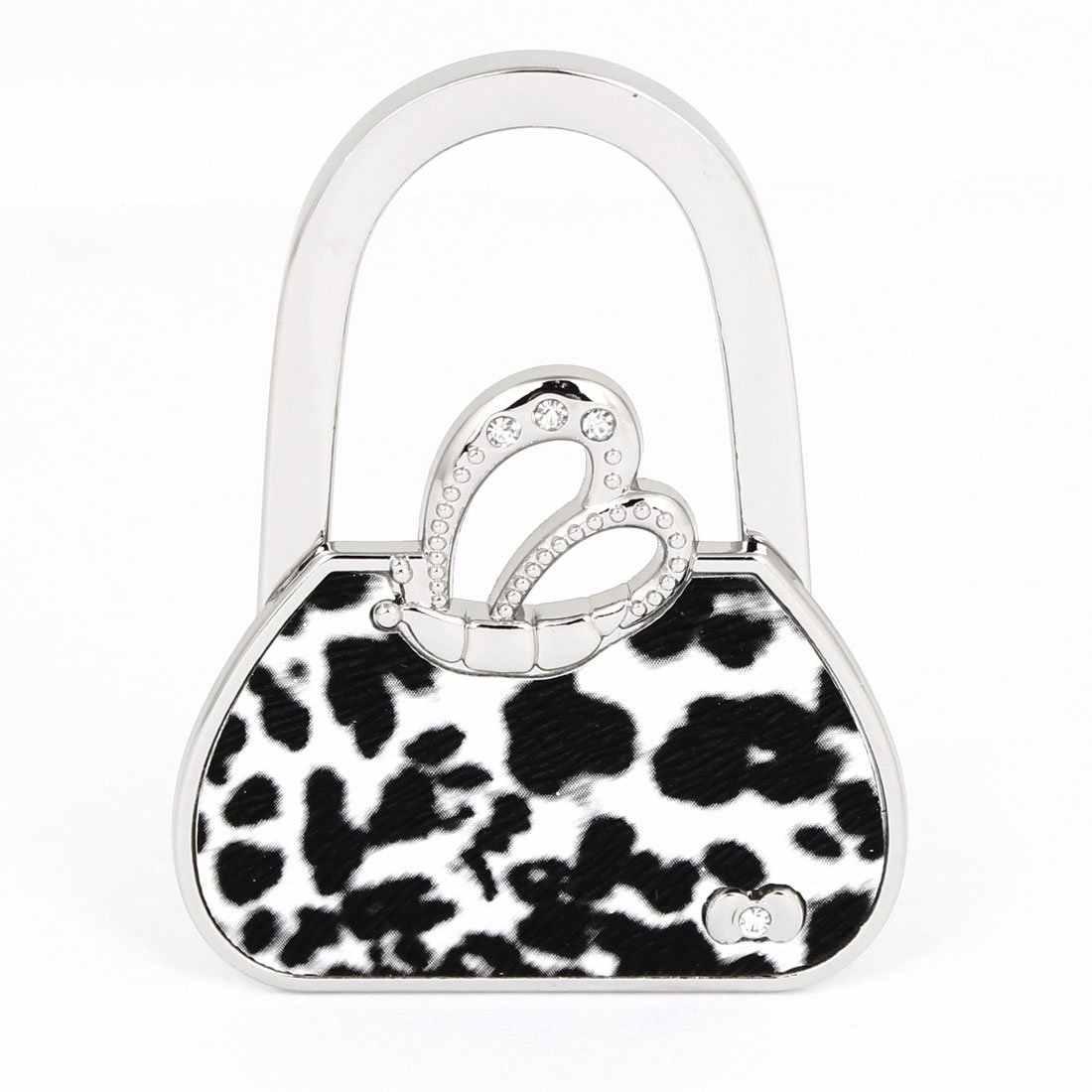 Leopard Print Handbag Table Hook Hanger
