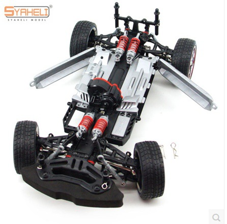 1.16 Remote Control RC Drift Car Model 4WD Upgrade Alloy Car Frame Parts Brushless Double Servo 60 kinds bracket bag rc car frame diy toy accessories technology model accessories quadcopter rc car servo fpv gimbal parts