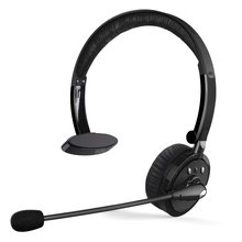 M10 Bluetooth Headset Wireless Stereo Truck Driver Headphones 350 Hours Super Long Standby Time  Call Center Office