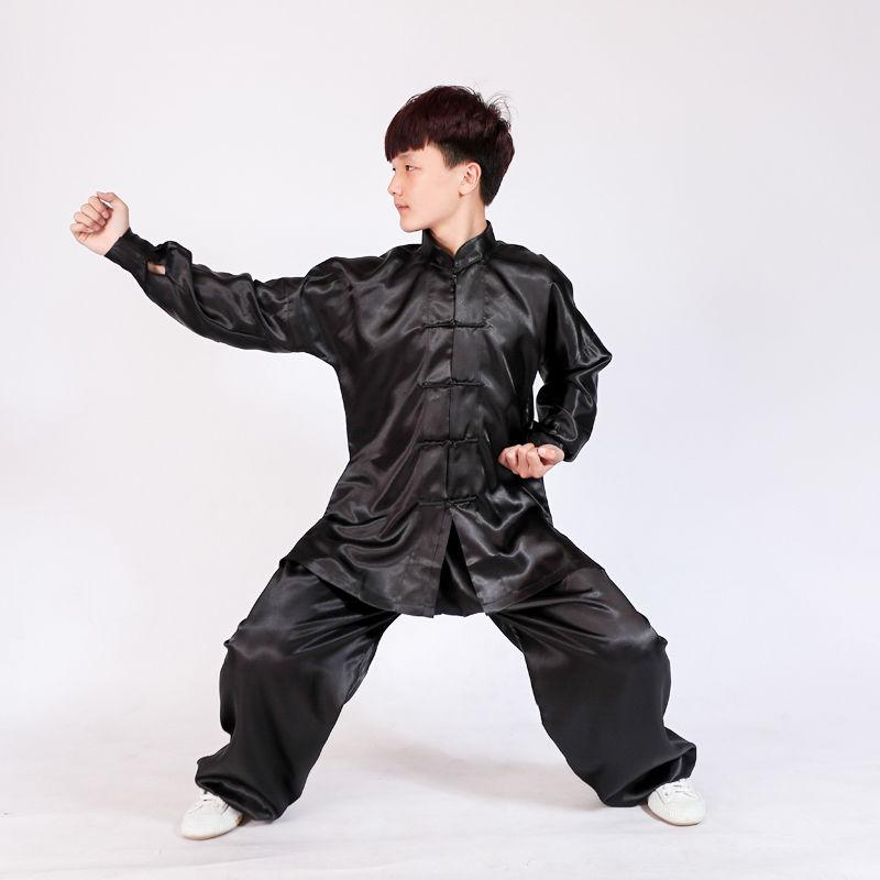 8 цветов для детей и взрослых Tai chi Униформа Единоборства кунг-фу крыло Chun костюм для ушу