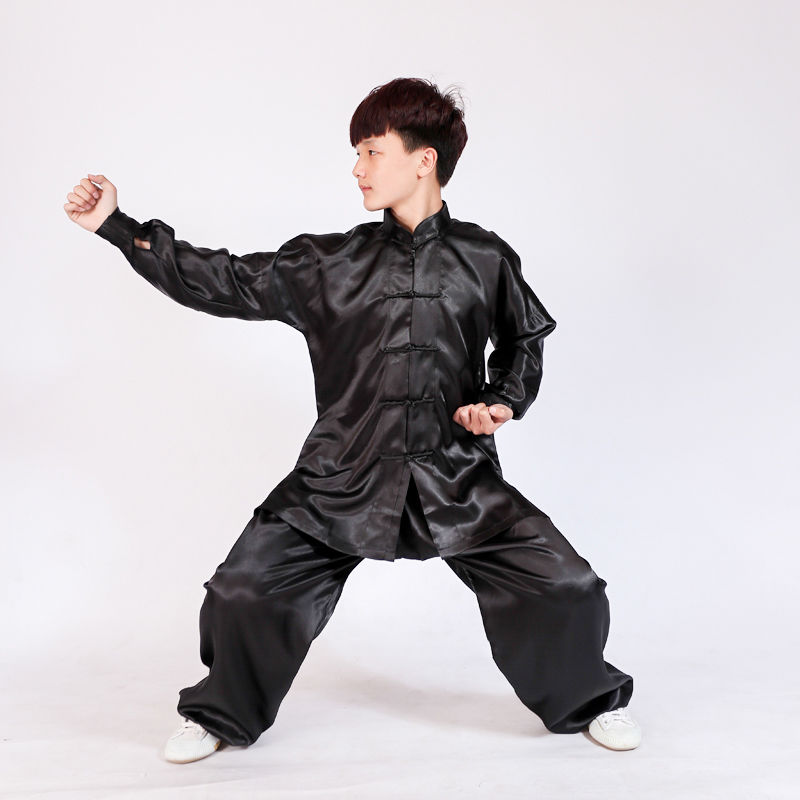 8 Farben Kinder & Erwachsene Tai Chi Einheitliche Kampfkunst Kung Fu Wing Chun Wushu Suit