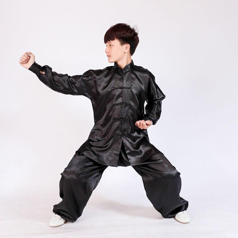ᐅ8 colores niños y adultos uniforme tai chi artes marciales kung fu ...