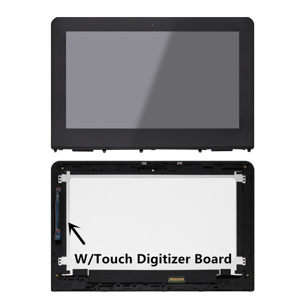 IPS LCD Display Touch Screen Glass Digitizer Assembly+Bezel+Controll Borad For HP Stream x360 11-aa051sa 11-aa001na 11-aa051na стоимость