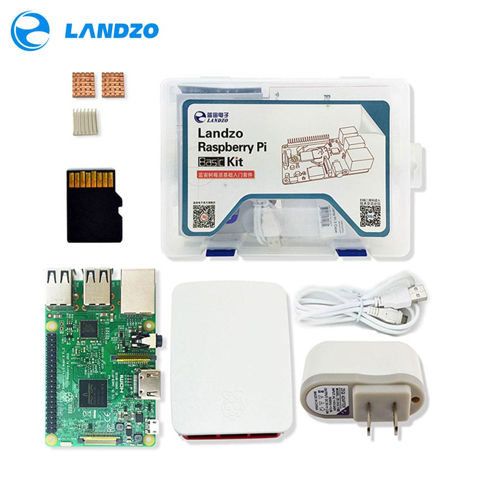 raspberry pi kit Raspberry Pi 3 Board 5V 2 5A US Power Supply Case Heat Sink