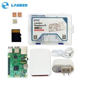 Image 1 - raspberry pi kit   Raspberry Pi 3 Board + 5V 2.5A US Power Supply + Case + Heat Sink For Raspberry Pi 3 Model B wifi & bluetooth