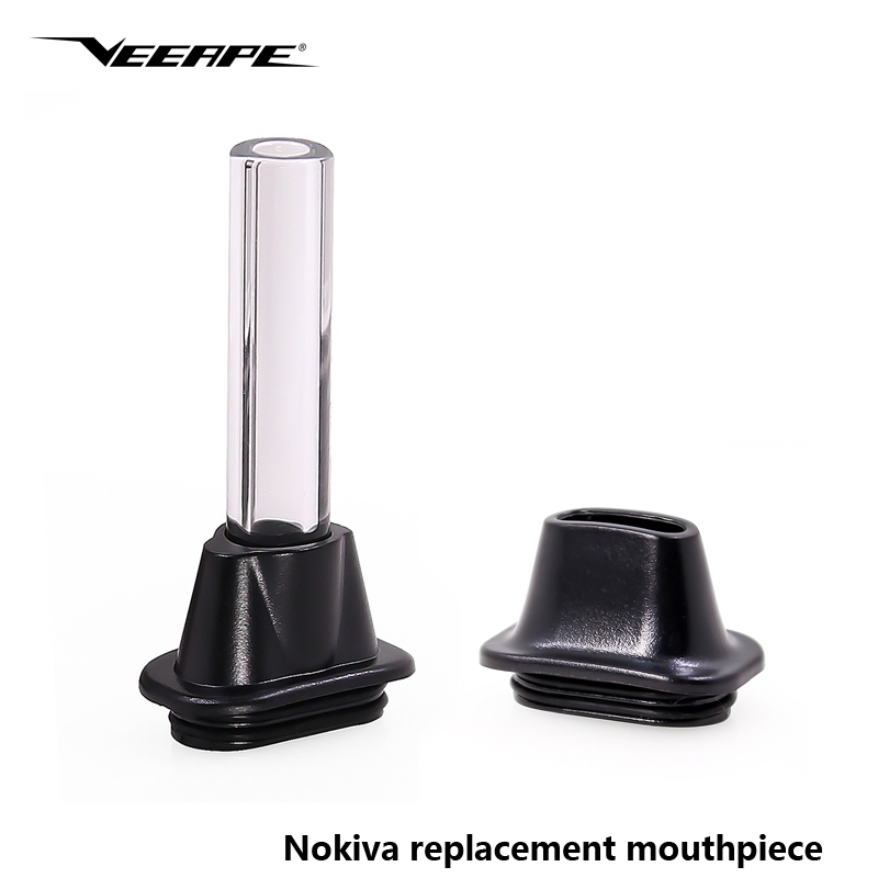 Original Veeape Nokiva Replacement Mouthpiece Electronic Cigarette Accessory Drip Tip For Airistech Nokiva Dry Herb Vaporizer
