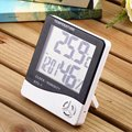 For HTC-1 High Accuracy Household LCD Digital Thermometer Hygrometer Indoor Electronic Temperature Humidity Meter Clock
