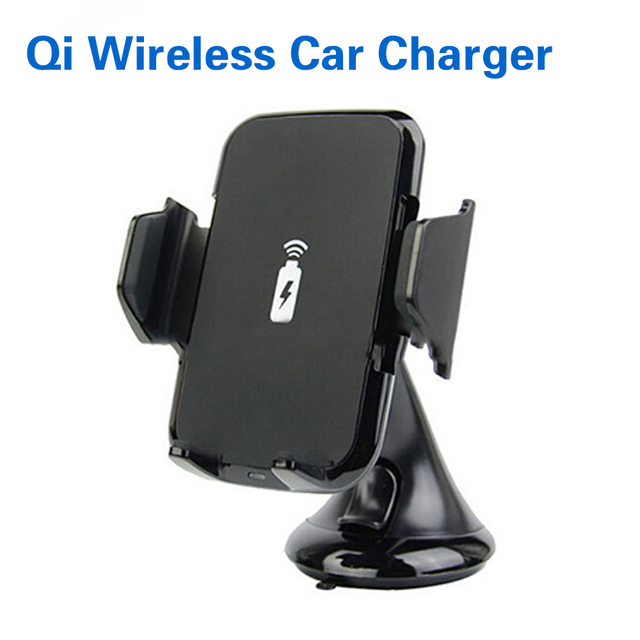 2017 Multi-Funtion Qi Wireless Charger Charging Pad Phone Holder Wireless Car Charger For Samsung S6 S7 S7 Edge Note 5 LG G3/G4