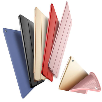 SUREHIN Nice smart case for apple iPad 4 3 2 cover+tpu silicone soft back for iPad 2 case+full protective+thin+magnetic sleeve image