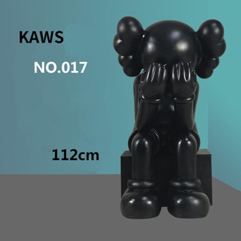 Trend Outdoor Cartoon KAWS Doll Shopping Mall Network Red Shop Creative Decor Crafts Glass Steel Sculpture Large Ornaments M1085Trend Outdoor Cartoon KAWS Doll Shopping Mall Network Red Shop Creative Decor Crafts Glass Steel Sculpture Large Ornaments M1085