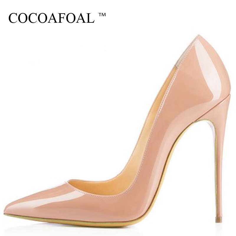 COCOAFOAL Woman Embroider Wedding Pumps Plus Size 33 - 43 Sexy Ultra High Heels Shoes Party Stiletto 12 CM Embroider Red PumpsCOCOAFOAL Woman Embroider Wedding Pumps Plus Size 33 - 43 Sexy Ultra High Heels Shoes Party Stiletto 12 CM Embroider Red Pumps