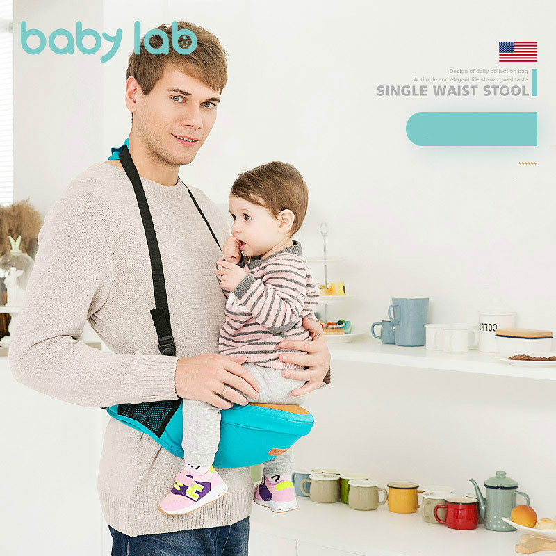 BABY LAB Ergonomic Anti Slip Baby Carrier Hipseat With Shoulder Stool Waist Belt Holder Infant Organizer Sling Wrap 0-36months
