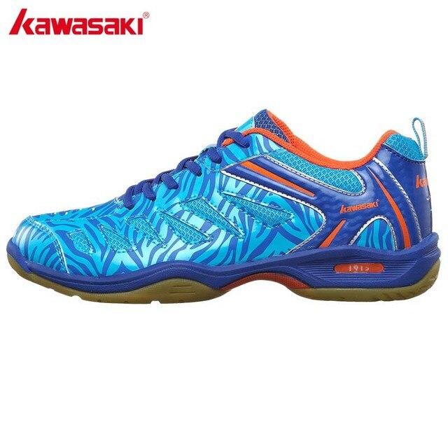 cheaper 663ee f4459 US $51.66 |Genuine Kawasaki Scarpe Da Badminton K 137 Traspirante Anti  torsione Scarpa Sportiva Per Le Donne Degli Uomini di Badminton Scarpe Da  ...
