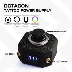 Fuente de alimentación de tatuaje Octágono