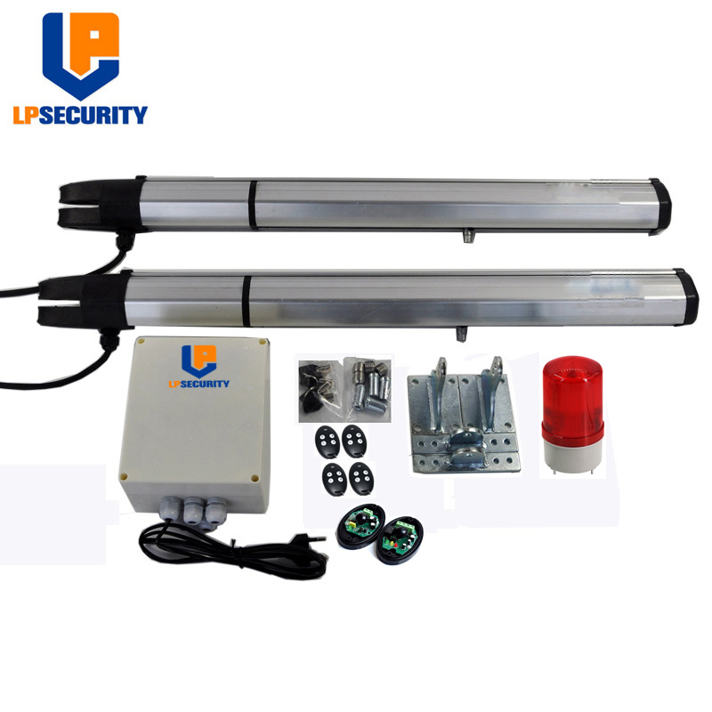 Lpsecurity Dc V Electric Linear Actuator Kgs Per Leaf Engine Motor System Automatic Swing Gate Opener on Linear Actuator For Electric Automatic Gate Opener View