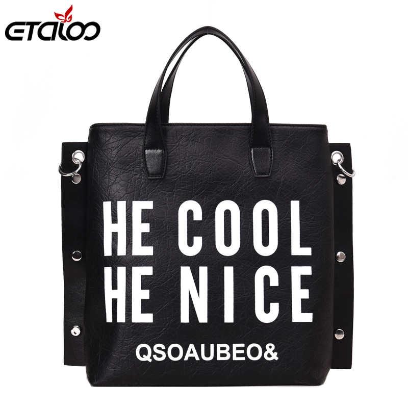 6fc4508190b Detail Feedback Questions about Fashion Handbag Women Letter Soft ...