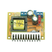 Conversor zvs de alta tensão, conversor de voltagem ajustável DC DC v 8 ~ v 32 v para 45 ~ 390 v módulo de impulsionador capacitor placa carga novo a