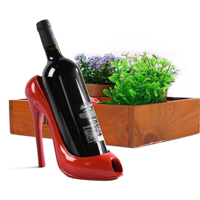 High Heel Wine Bottle Holder Tabletop Wine Racks Decorative Wine Gorgeous Decorative Wine Bottle Holders