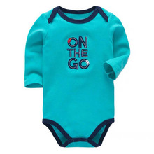 2019 new Baby Bodysuits Autumn Top Quality Girl Boy Clothes 100% Cotton Long Sleeve Underwear Infant Jumpsuit 0-24M