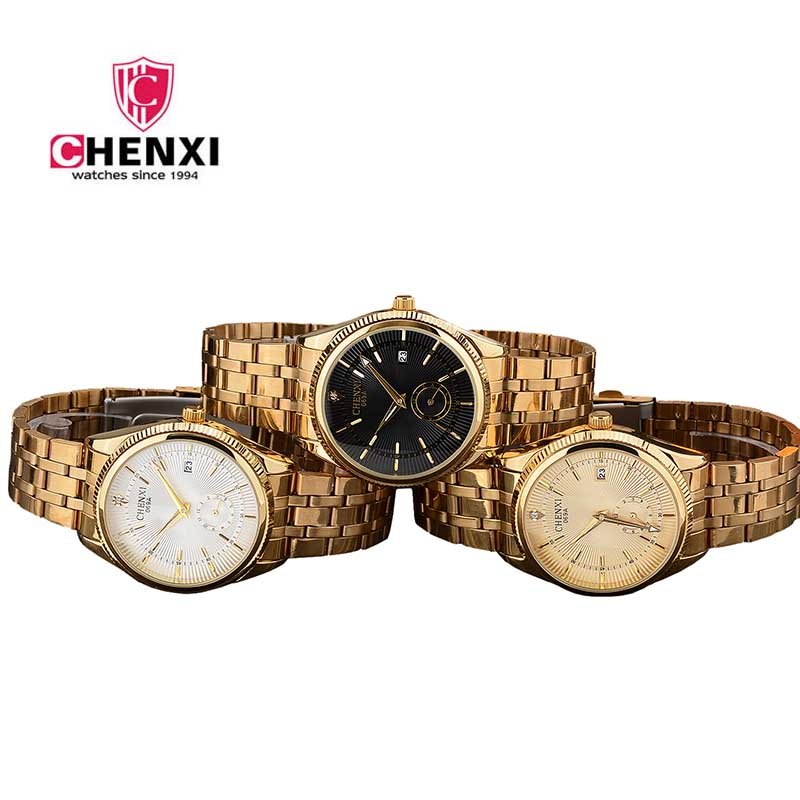 Mens Relojes De Primeras Marcas Lujo Men Watch Top Marca Luxo Wristwatch Gold Luxury Male Clock Golden Quartz Calendar Relogio classic style natural bamboo wood watches analog ladies womens quartz watch simple genuine leather relojes mujer marca de lujo
