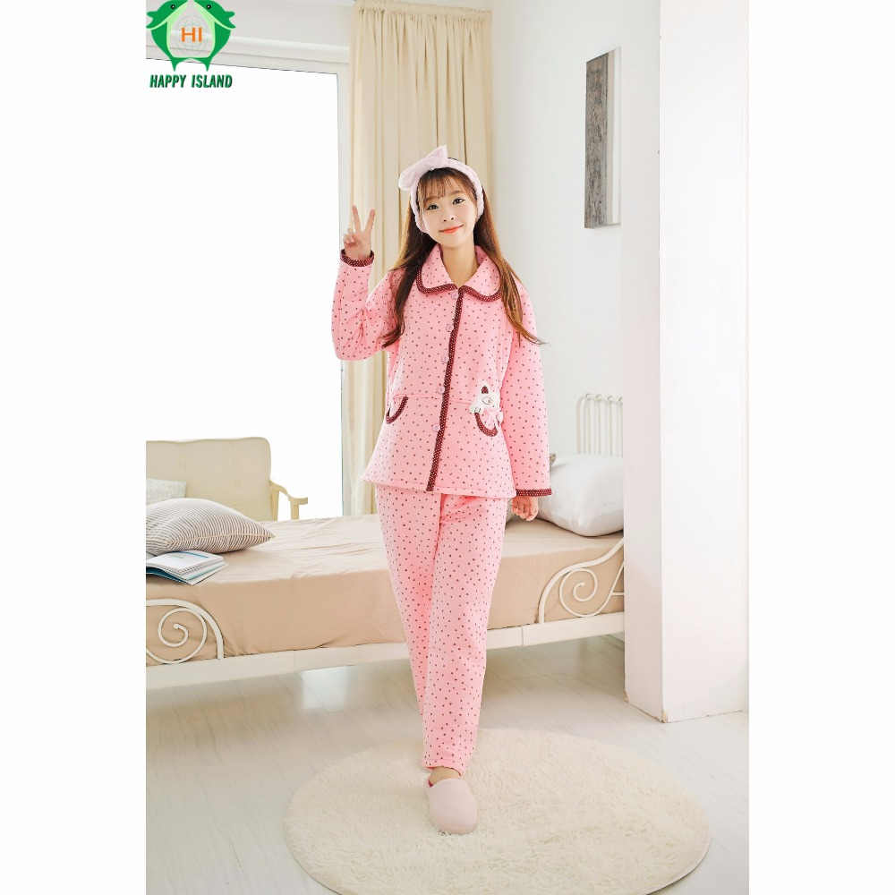 Winter Long Sleeve Flannel Pregnancy Maternity Clothes Hamile Gecelik Pajamas Camiso Maternidade Sleepwear Pregnancy Clothing long sleeve cartoon bear thick flannel maternity clothing pajamas sets breast feeding home wear nightwear factory price