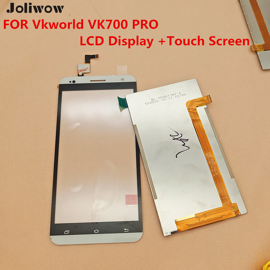 FOR Vkworld VK700PRO VK700 PRO Original Screen LCD Display +Touch Screen+ Tools 5.5 inch Touch Digitizer Assembly Replacement