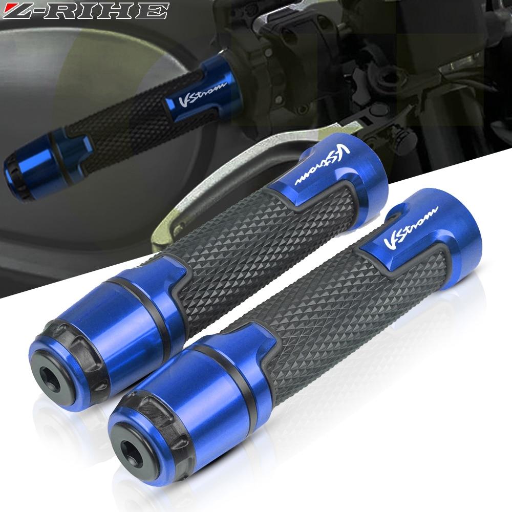 Motorcycle Accessories 7/8'' 22MM CNC Handlebar Grips Handle Grip Handle Bar For SUZUKI DL650 DL1000 V-Strom DL 650 1000 VSTROM