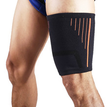 Trimmer Wrap Brace Thigh-Protectors Compression-Sleeve Recovery for Injury Adjustable