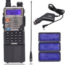 BAOFENG UV 5RE トランシーバー CB ラジオプロフェッショナルステーション Baofeng UV5RE トランシーバ 8 ワット VHF UHF ポータブル UV 5R 双方向ラジオ