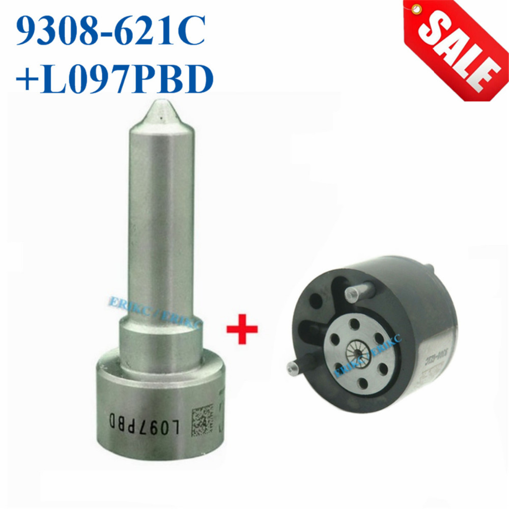 ERIKC Valve 9308-621C Injector Nozzle L097PBD Overhaul Repair Kit 7135-659 Inyector CR Spare Parts 28239294 for EJBR02801D 3601D hyvst spare parts prime spray valve for spx150 350 1501013