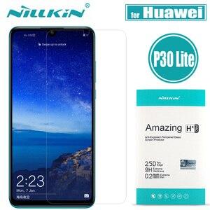 Image 1 - Nillkin Huawei P30 Glass P30 Lite Screen Protector Nillkin Safety Glass for Huawei P20 Pro Protective Glass on Huawei P20 Lite