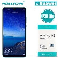 Nillkin Protector de pantalla de cristal para Huawei P30 Lite, cristal de seguridad para Huawei P20 Pro, cristal Protector para Huawei P20 Lite