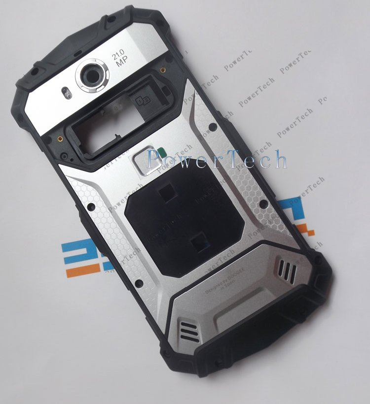 Image 4 - DOOGEE S60 Battery Door Cover Back Housing with Fingerprint  For DOOGEE S60 Cell Phone  Genuine Parthousing coverphone coverhousing s6 -