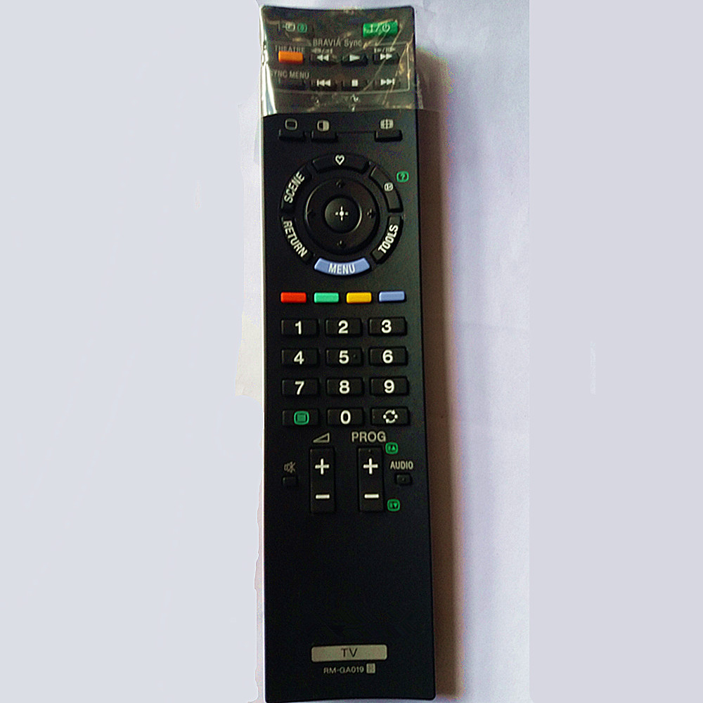 Remote control For SONY LCD LED TV controller RM-GA018 RM-GA019 RM-GD009 genuine hongdak rm s1am 1 2 lcd wired remote control camera timer for sony alpha dslr a100 more