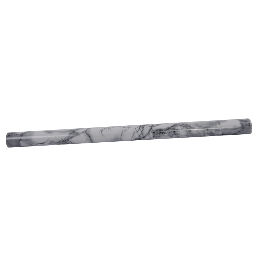 HOHOFILM 1.22x50m Marble Sticker Glossy Vinyl Wrap for Home Table Furniture Office Sticker Vinyl 48''x164ft - 2