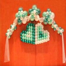 100 точек воздушный шар клеевые шарики в горошек аксессуары Свадебные украшения на день рождения наклейки на воздушные шары точки DIY