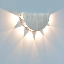 YooE Indoor LED Wand Lampe Moderne Schmücken Wand Leuchte Wohnzimmer Schlafzimmer gang Nacht Lesen FÜHRTE Wand Licht