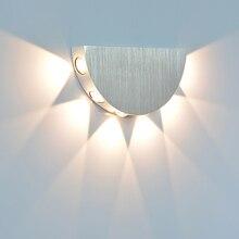 YooE ในร่มโคมไฟติดผนัง LED โมเดิร์นตกแต่งกำแพงห้องรับแขกห้องนอน aisle ข้างเตียง LED Wall Light