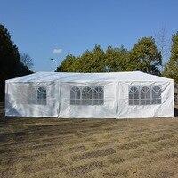 10'x30' обновление 8 стен спиральная трубка навес праздничный свадебный навес беседка павильон