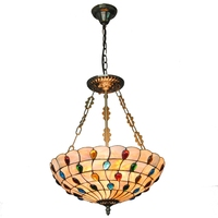 classic turkish mosaic 16 inch peacock tail pendant light lamp bar bedroom desk lamp decoration lamp