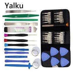 Yalku 45 in 1 Torx Schraubendreher handy Reparatur Tool Set Hand Werkzeuge für IPhone Handy Xiaomi Tablet PC kleine Spielzeug Kit