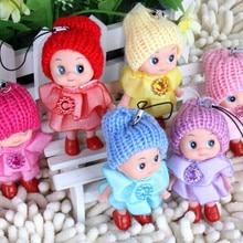 Doll Stuffed-Toy Mini Gift for Girl Confused Key-Chain-Phone Pendant-Ornament Random-Clour