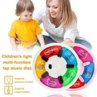 Children Cartoon Music Learning Board Toys Light Music Baby Developmental Toy Musical Instruments Toys For Children
