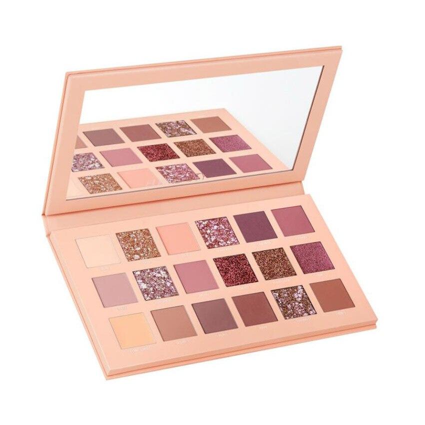 2018 kosmetik Die Neue Nude Palette 18 Farbe Lidschatten hoch pigmentierte shades Make-Up
