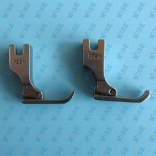 Industrial Sewing Machine Narrow Right Hinged Zipper Cording Foot #P36N=12435HN 2PCS