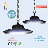 10 Pack 50W 100W 150W 200W led UFO high bay light in industrial lighting outdoor 100 277V LED Spotlight floodlights waterproof