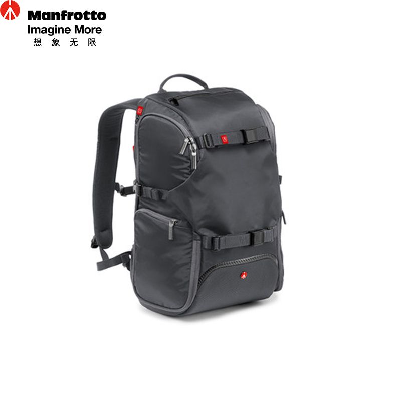 Manfrotto MA-BP-TRV Nylon Camera Bag Portable Digital Camera Backpacks Multi Function Carry Bag SLR Photography Accessories Bag