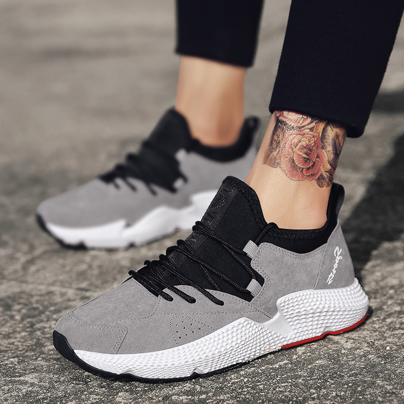 2018 Summer Krasovki Flock Leather Boosts Sneakers Shoes Adult Male Tennis Casual Office Cheap Flats Footwear Trainer Shoes